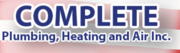 Get Maintenance Services by Complete Plumbing,  Heating & Air Inc.