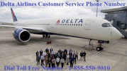 Delta Airlines Customer Service Phone Number - Call 1-855-550-9010